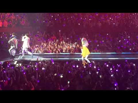 20180916 Trivia 起: Just Dance-Jhope @ Fort Worth BTS (방탄소년단) Love Yourself Tour Fancam 직캠