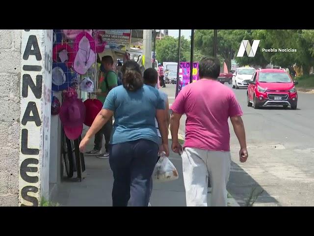 Alta afluencia de personas este fin de semana en #Puebla pese a contingencia por #Covid19