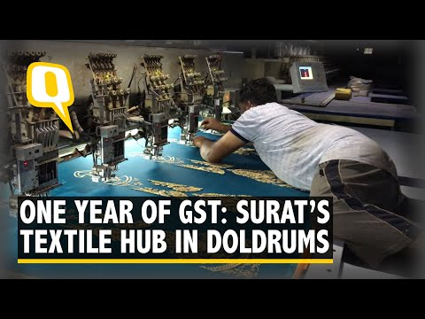 One Year Of GST: A Ground-Check On How Surat's Crumbling Textile Hub
