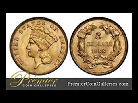 Three Dollar Gold Piece: 500th Subscriber Video - Numismatics with Kenny - Coin Collecting
