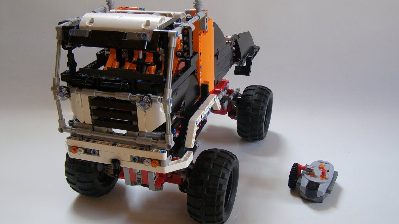 lego technic 9398 b model off road truck review youtube. Black Bedroom Furniture Sets. Home Design Ideas