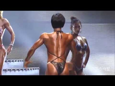 Extremely beautiful korean female bodybuilder Park Joo Hee 박주희