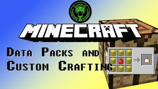 How to make Data Packs and Custom Recipes for Minecraft 1.13