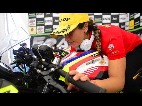 La chilena Isis Carreño se adueñó de la Pole en GP3 de las Américas.