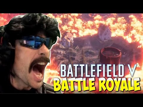 DrDisRespect  REACTS To BattleField 5 Battle Royale Trailer - EPIC Duos Win PUBG Gameplay (8/16/18) thumbnail