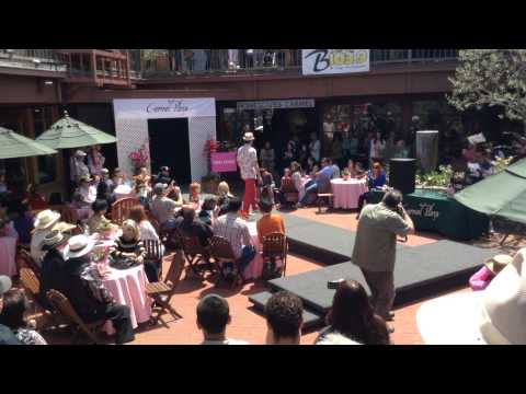 Carmel Plaza fashion show