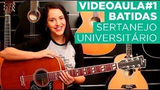 Baixar Videoaula1: Batidas de violão no Sertanejo Universitário - (Arrocha, Pop Universitário e Bachata)