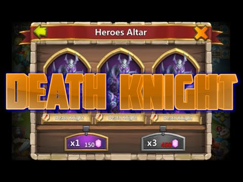 F2P Rolling Death Knight Castle Clash's Newest Hero