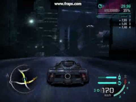 need for speed carbon: pagani zonda f - youtube