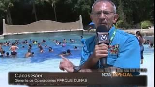 Nota Especial en Venevision del PARQUE DUNAS