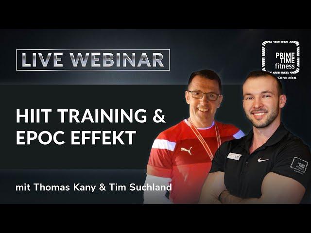 EPOC Effekt durch HIIT Training - Wie geht das?