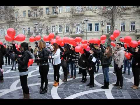 Roya fanatlarının hazırladıqarı flashmob.