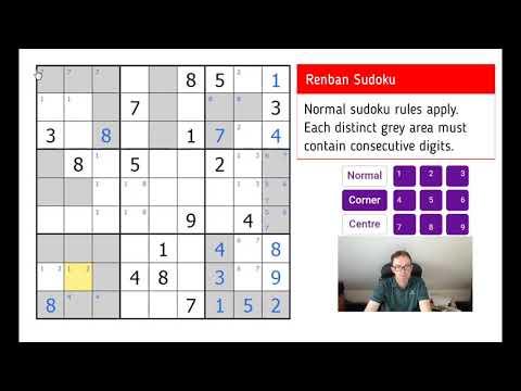 Renban Sudoku - Test Your Logic! - YouTube