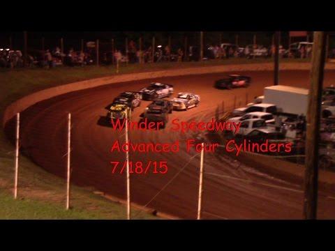 Winder Barrow Speedway Advanced Four Cylinders 7/19/15