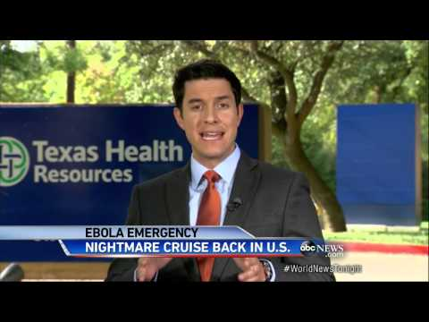 Cruise Ship Carrying Dallas Hospital Worker Docks in Texas