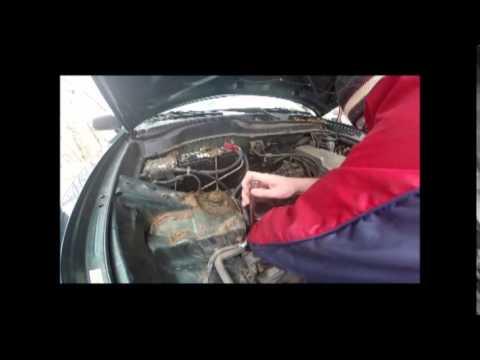 1997-2001 Honda CR-V Starter Installation - YouTube