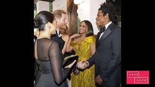 Меган Маркл встретилась с Бейонсе и Jay Z на премьере фильма «Король Лев»