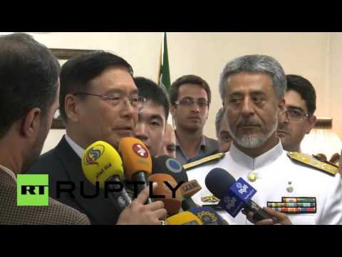 Iran: Chinese and Iranian naval leaders meet to discuss defence ties