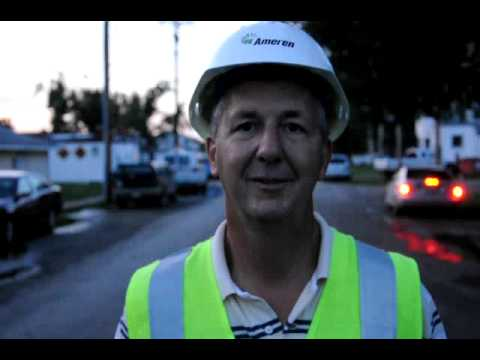 Ameren Illinois' Storm Restoration August 19, 2009 - Update from Williamsville