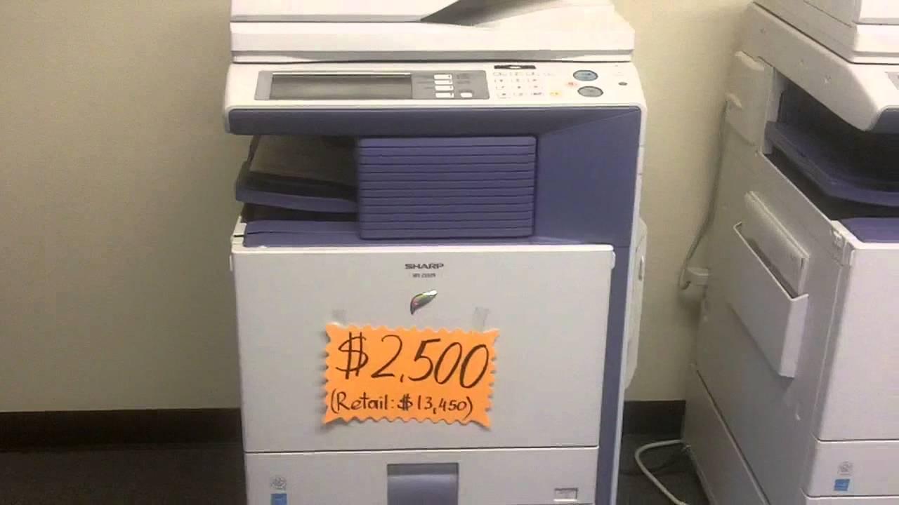 Copiers Printers Scanners Sharp MX color copier