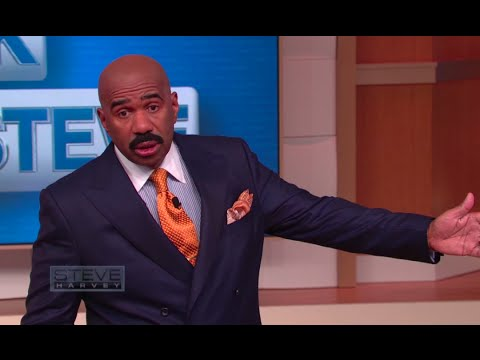 Ask Steve: Sit your African-American ass down! || STEVE HARVEY