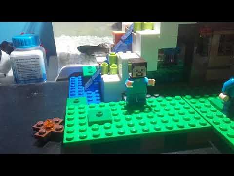 la vie de steve minecraft lego
