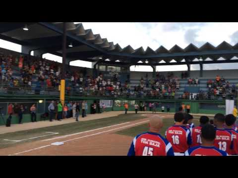 2015 AABC Pee Wee Reese World Series at Levittown 3rd Section US Anthem