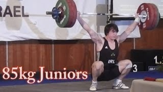 European Junior Weightlifting Championships 85kg A Class