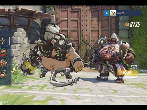 Overwatch - Roadhog Giving You The Hook & Hog Wild Achievements