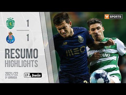 Highlights | Resumo: Sporting 1-1 FC Porto (Liga 21/22 #5)