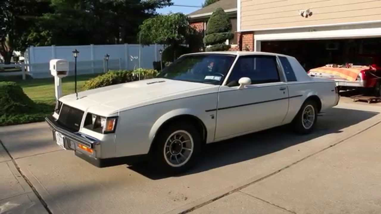 1987 buick t type coupe for sale turbo engine grand national w color change youtube. Black Bedroom Furniture Sets. Home Design Ideas