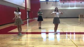 2016-2017 tryout dance with music