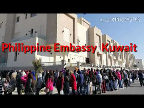 This is how Philippine Embassy here in Kuwait/vacation time
