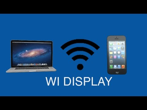 Wi Display - Wireless display for your Mac or PC