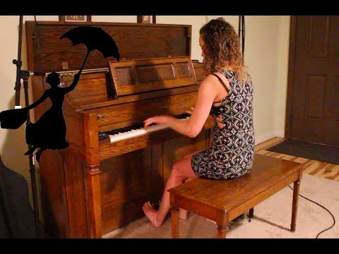 Mary Poppins Rag - Disney Ragtime Medley Piano Cover