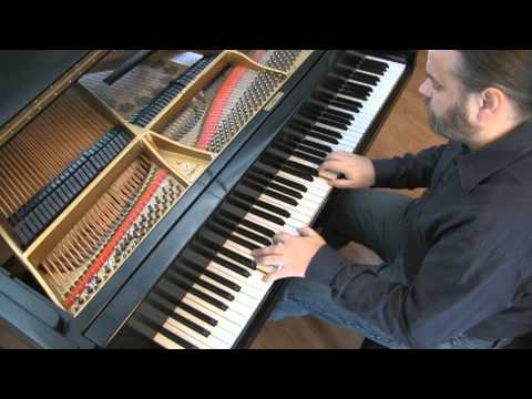 BACH: Minuet in D Minor, BWV Anh. 132 | Cory Hall, pianist-composer