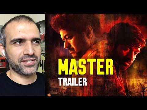 Master Trailer Reaction  [ Thalapathy Vijay, Vijay Sethupathi ]