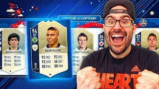 ICON ONLY DRAFT CHALLENGE! - FIFA 18 Ultimate Team