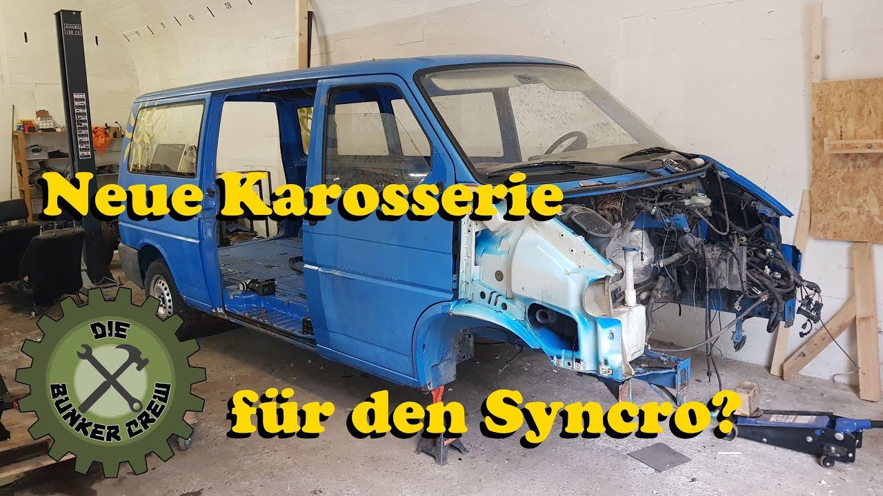 Eine neue Karosserie für den T4 Syncro? - Die Vorderachse kommt raus!