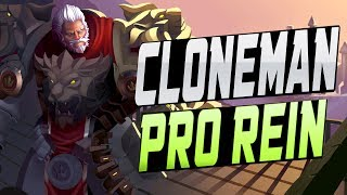 CLONEMAN16 PRO  REINHARDT! [ OVERWATCH SEASON 11 TOP 500 ] thumbnail
