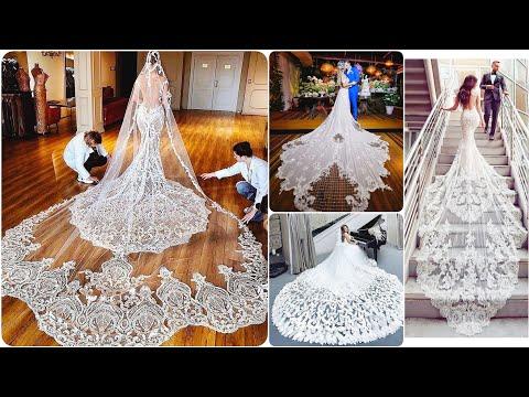 Stylish Designer Mermaid Bridal Dress With Long Tail 2019 Wedding Dress  bridal Gown with lace Aplic. http://bit.ly/2ODXIYj