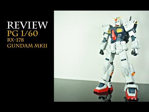 Review PG 1/60 Rx-178 Gundam MKII