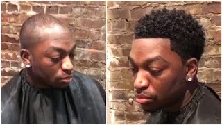 Man Weave Transformation Cut By Cimaje Studio. AMAZING!! WOW!!