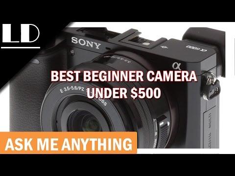 Best beginner camera under $500