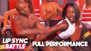 "Lupita Nyong'o Performs ""Bailando"" by Enrique Iglesias & ""Whatta Man"" by Salt-N-Pepa"