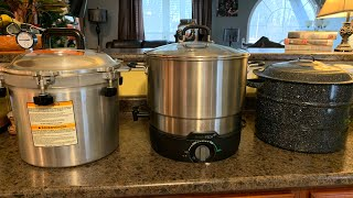 Fun FAQ Friday: My Water Bath and Pressure Canners