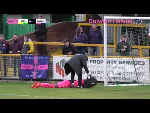 Thurrock 0-1 Dulwich Hamlet, Bostik League Premier Division, 04/11/17 | Match Highlights