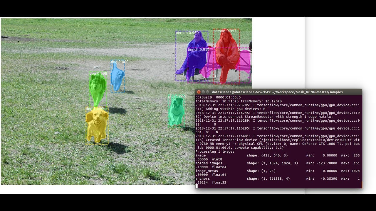 Image Segmentation using Mask-RCNN in Deep Learning - Final Btech