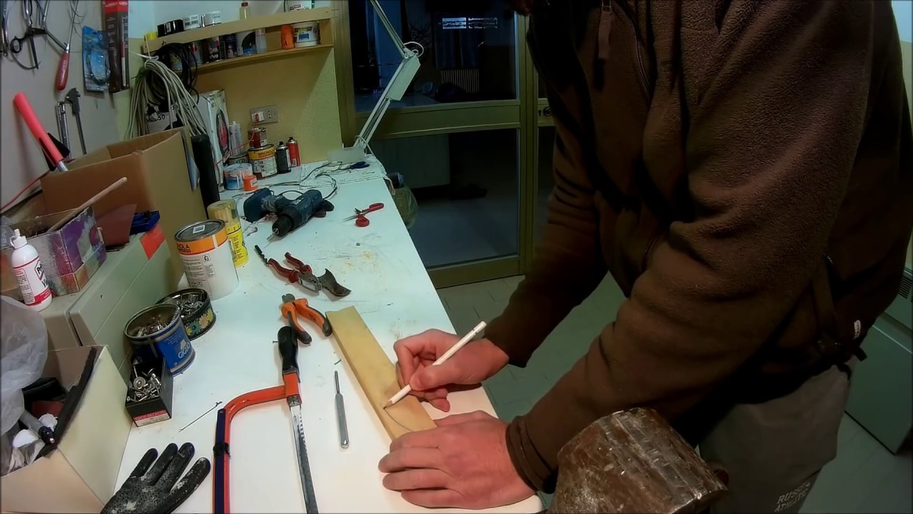 how to make wooden lures video