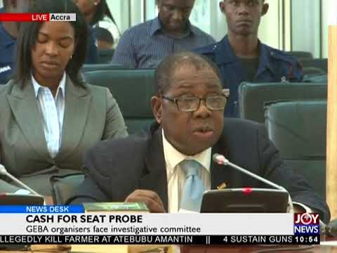 Cash For Seat Probe - News Desk on JoyNews (15-1-18)